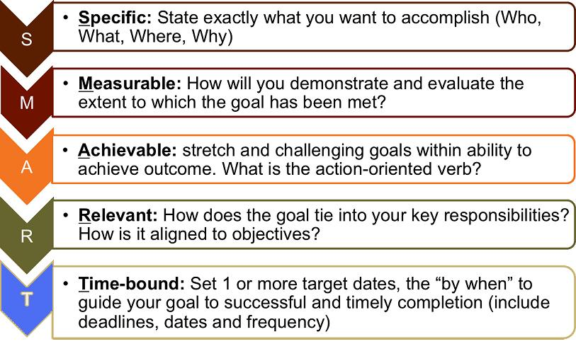 writing smart objectives Smart goal setting is an effective process for setting business goals review these examples that provide easy-to-follow smart goal examples by writing one.